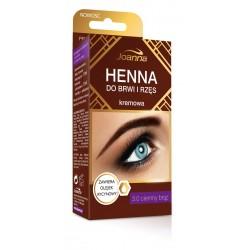 Joanna Henna do brwi i rzęs kremowa nr 3.0 ciemny brąz  15ml