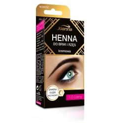 Joanna Henna do brwi i rzęs kremowa nr 1.0 czarna  15ml