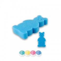 Top Choice Akcesoria kąpielowe Myjka dla dzieci Miś (30581)