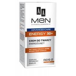 AA Men Adventure Care Krem do twarzy Energy 30+ energizujący  50ml