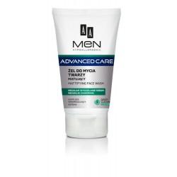 AA Men Adventure Care Żel do mycia twarzy matujący  150ml