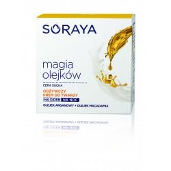 Soraya Magia Olejków Krem odżywczy na dzień i noc - cera sucha  50 ml
