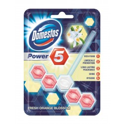 Domestos Fresh Orange Kostka WC Power 5 koszyk  55g
