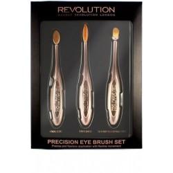 Makeup Revolution Precision Eye Set Zestaw szczotek do makijażu oczu  1op.