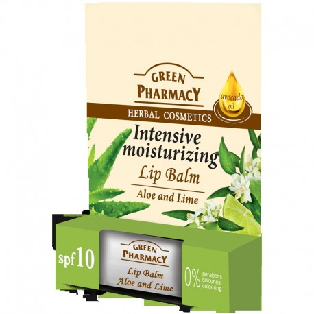 Green Pharmacy Lip Balm Balsam do ust Intensive Moisturizing  1szt