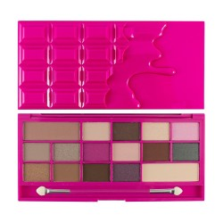 I Heart Makeup Palette Zestaw cieni do powiek Chocolate Love  22g (16 kolorów)