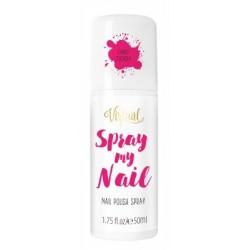 Virtual Spray My Nail Lakier do paznokci w sprayu Fancy Fuchsia  50ml