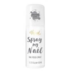 Virtual Spray My Nail Lakier do paznokci w sprayu Sophisticated Silver 50ml