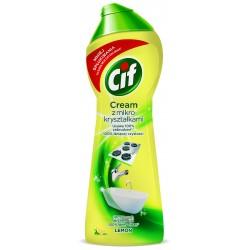 Cif Lemon Cream Mleczko do czyszczenia z mikrokryształkami  300g