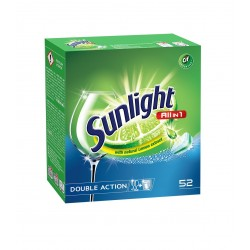 Sunlight Tabletki do zmywarek All in 1   1 op.-52szt