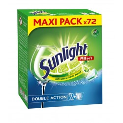 Sunlight Tabletki do zmywarek All in 1   1 op.-72szt