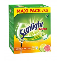 Sunlight Tabletki do zmywarek Citrus Fresh 1 op.-72szt