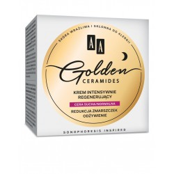 AA Golden Ceramides Krem intensywnie regenerujący na noc - cera sucha i normalna  50ml