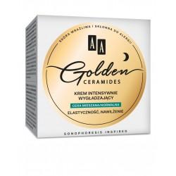 AA Golden Ceramides Krem intensywnie wygładzający na noc - cera normalna i mieszana  50ml
