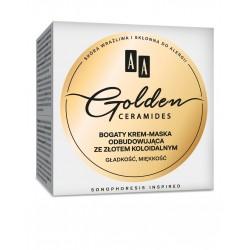 AA Golden Ceramides Krem-maska odbudowująca ze złotem koloidalnym 50ml