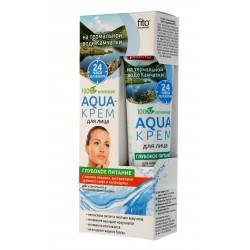 """Fitocosmetics Aqua-krem dla twarzy """"Głębokie odżywianie"""" 45ml"""