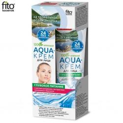 """Fitocosmetics Aqua-krem dla twaryz """"Głębokie odżywianie"""" 45ml"""
