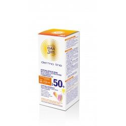 Dax Sun Dermo Line Mleczko ochronne dla dzieci i niemowląt SPF 50 hipoalergiczne  200ml