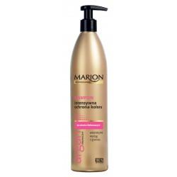 Marion Professional Argan Organiczny Szampon do włosów intensywna ochrona koloru  400g