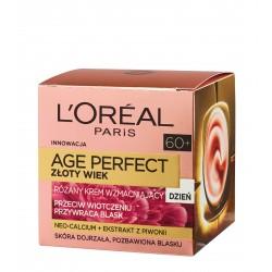 Loreal Age Perfect 60+ Złoty Wiek Krem wzmacniający różany na dzień  50ml