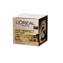 Loreal Age Perfect 60+ Złoty Wiek Krem wzmacniający na noc  50ml