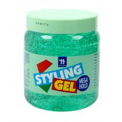 Hegron Styling Żel do modelowania włosów 500ml mega hold zielony