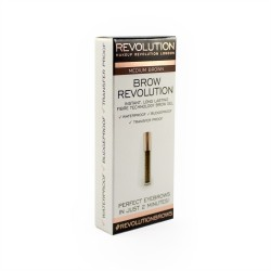 Makeup Revolution Brow Revolution Żel do brwi Medium Brown  3.8g