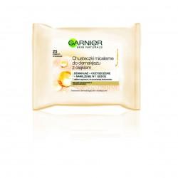 Garnier Skin Naturals Chusteczki miceralne do demakijażu z olejkiem arganowym  1op.-25szt