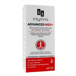 AA Intymna Specjalistyczna Emulsja do higieny intymnej Advanced Med+  300ml