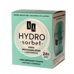 AA Hydro Sorbet Krem multinawiżenie + matowienie - cera mieszana i tłusta  50ml