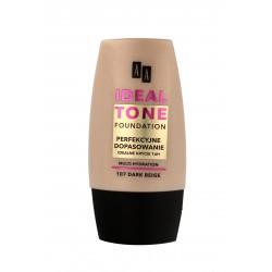 """AA Make Up Ideal Tone Podkład """"Perfekcyjne Dopasowanie"""" nr 107 dark beige  30ml"""