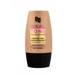 """AA Make Up Ideal Tone Podkład """"Perfekcyjne Dopasowanie"""" nr 109 caramel  30ml"""