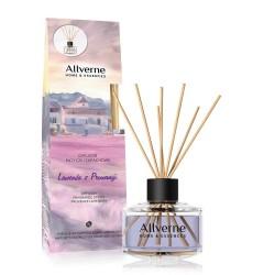 Allverne Home & Essences Dyfuzor z patyczkami zapachowymi Lawenda z Prowansji  50ml