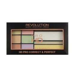 Makeup Revolution Pro HD Correct & Perfect Palette Zestaw do korygowania niedoskonałości twarzy 1szt