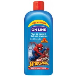 On Line Disney Spider Man Płyn do kąpieli i żel pod prysznic 2w1  400ml