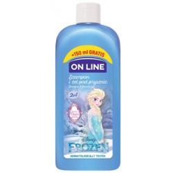 On Line Disney Frozen Szampon i żel pod prysznic 2w1  400ml