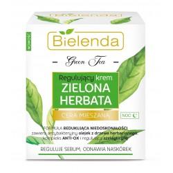 Bielenda Zielona Herbata Krem regulujący na noc - cera mieszana  50ml