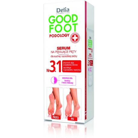 Delia Cosmetics Good Foot Podology Nr 3.1 Serum na pękające pięty 60ml
