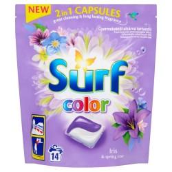 Surf Color Kapsułki do prania 2in1 Iris & Spring Rose  1op.-14szt