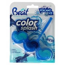 Brait Kostka toaletowa 2-fazowa Color Splash do WC Volcano Ice  45g