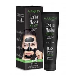 Marion Detox Aktywny Węgiel Maska czarna peel-off  25g