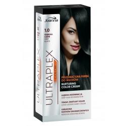 Joanna Ultraplex Color Farba pielęgnacyjna do włosów nr 1.0 Głęboka Czerwień