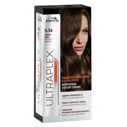 Joanna Ultraplex Color Farba pielęgnacyjna do włosów nr 5.36 Średni Brąz   1op.
