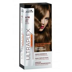 Joanna Ultraplex Color Farba pielęgnacyjna do włosów nr 6.36 Ciepły Brąz