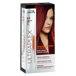Joanna Ultraplex Color Farba pielęgnacyjna do włosów nr 6.5 Czerwone Wino