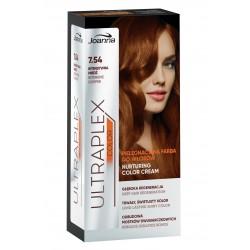 Joanna Ultraplex Color Farba pielęgnacyjna do włosów nr 7.54 Intensywna Miedź