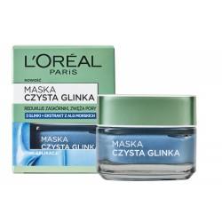 Loreal Skin Expert Maska Czysta Glinka przeciw niedoskonałościom 50ml