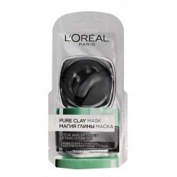 Loreal Skin Expert Maska Czysta Glinka detoksykująco-rozświetlająca  6ml saszetka