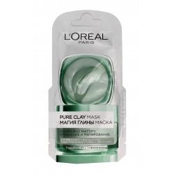 Loreal Skin Expert Maska Czysta Glinka oczyszczająco-matująca  6ml saszetka