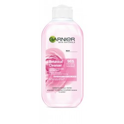 Garnier Skin Naturals Botanical Rose Water Mleczko do demakijażu łagodzące  200ml